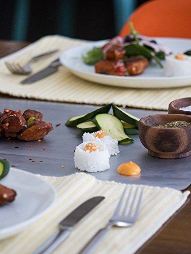 COOKINA Cuisine & ParchAluminum Lot de feuilles de cuisson antiadhésives - 10