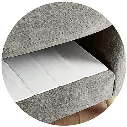 Zi Foam Sofa Seat Rejuvenater Board Support Saggy Sagging Cushion Lift 1/2/3 Armchair (White, 2 Seater)
