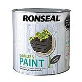 RONSEAL RSLGPCG25L Garden Paint Charcoal, Grey, 2.5 Litre