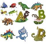 DFJUREN Puzle 3D del alfabeto, juguete educativo