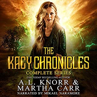 Kacy Chronicles Boxed Set audiobook cover art