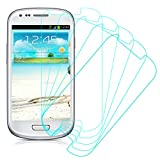 5 Pack of Clear Screen Protectors for Samsung Galaxy S III S3 Mini I8190