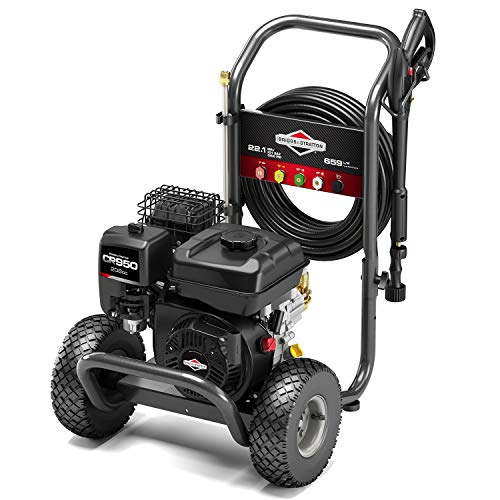 Briggs & Stratton 020741 ELITE 3200 Petrol Pressure Washer 3200 PSI/221 Bar - CR950 Series 208 cc Engine