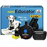 Educator - ET-300 Black - Ecollar Dog Training Collar with Remote Control - 1/2 Mile Range, Waterproof, Rechargeable, 100 Training Stimulation Levels, Vibration and Tone W/PetsTEK Training Clicker