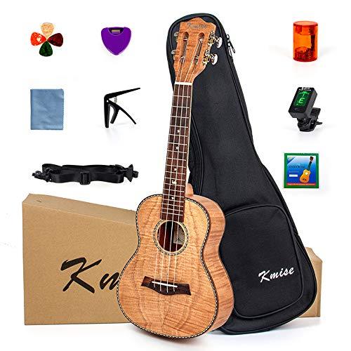 Kmise Konzert Ukulele Kit 23 Zoll Ukulele Ukelele Anfänger Vintage Hawaiianische Ukulele mit Uke...