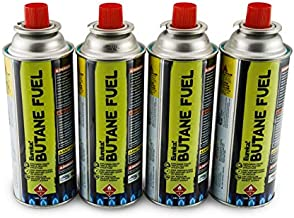 Eureka! Butane Fuel for SPRK Camping Grills and Stoves (4-Pack)