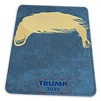 マウスパッド ゲーミングマウスパッド-ドナルドトランプ大統領2020ヘアキャンペーン滑り止め デスクマット 水洗い 25x30cm