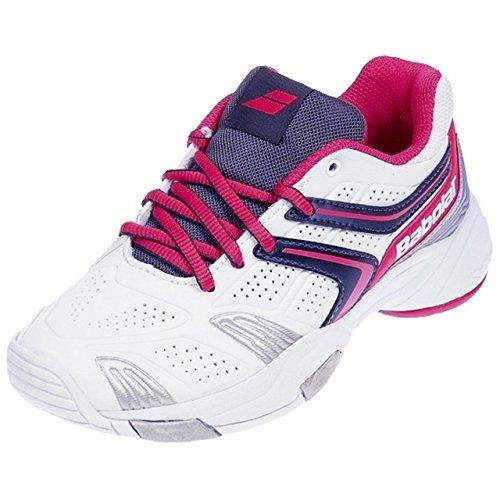 Babolat Babolat Kinder Tennisschuhe DRIVE 3 JR weiß/pink Gr. 6.5 (40)