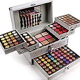 FantasyDay 132 Colori Makeup Contouring Kit combinazione con Palette Ombretti, Correttore, Polvere del Sopracciglio, Polvere Ombreggiante, Fard, Lucidalabbra e Polvere Pressata