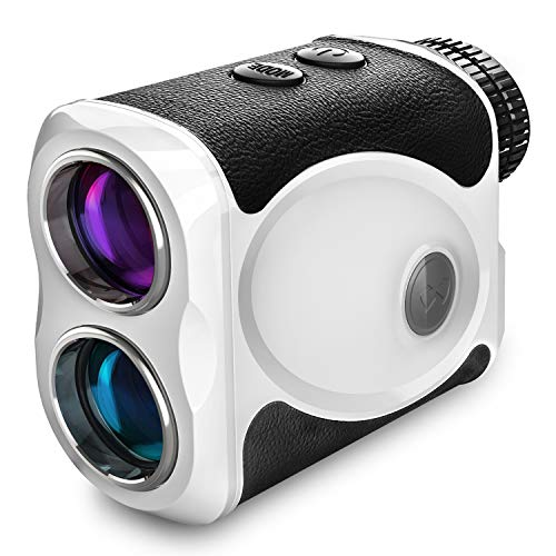 WOSPORTS Budget Golf Rangefinder, Continuous Scan, Speed