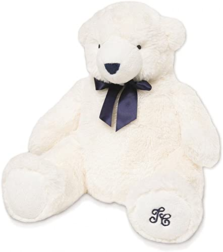 buena reputación TARTINE ET CHOCOLAT - Peluche ours blanco Jean - blanco, blanco, blanco, 110 cm  estar en gran demanda