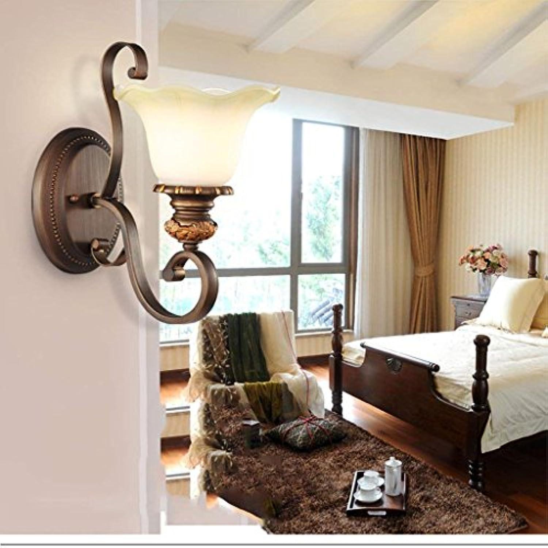 XX Bedroom Bedside Lamp Wohnzimmer Wandleuchte Einfache Aisle Lamp Corridor Eingang Beleuchtung Beleuchtung Retro Wandleuchte
