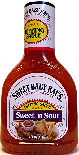 Sweet Baby Ray's Sweet 'n Sour Dipping Sauce 14 oz