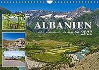 Albanien - wild, authentisch, abenteuerlich (Wandkalender 2022 DIN A4 quer): Impressionen aus der touristischen Nische Albanien (Monatskalender, 14 Seiten )