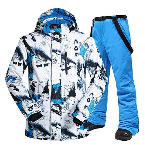 MQAIFEKS Skipak heren winter outdoor winddicht waterdicht thermische sneeuwjas en broek kleding skiën en snowboarden pakken merken
