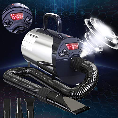 Newest Dog Dryer Professional Grooming Dog Hair Dryers For Dogs With Led Screen...