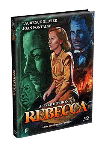 Alfred Hitchcock´s - REBECCA (1940) - 2-Disc wattiertes Mediabook Cover A [Blu-ray + DVD] Limited 500 Edition - Uncut