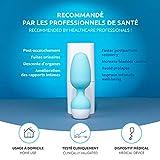Emy de Fizimed- Ejercitador conectado inalámbrico para la reeducación del suelo pélvico femenino- Acabe con la incontinencia urinaria - Entrene su periné - Dispositivo médico fabricado en Europa