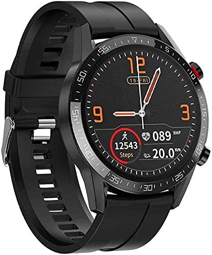 Smart Watch Smart Watch con ritmo cardíaco Presión arterial Blood Oxygen Sleep Monitor de sueño y múltiples modos de ejercicios compatibles con iOS y Android