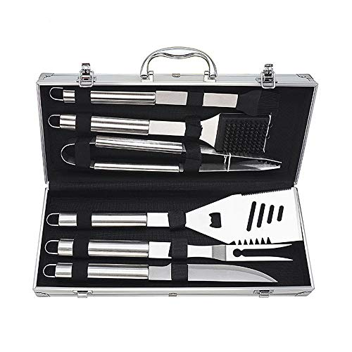 Buy Mhwlai BBQ Tool Set, Stainless Steel Barbecue Tool BBQ Grill Shovel, BBQ Grill Clip, BBQ Grill F...