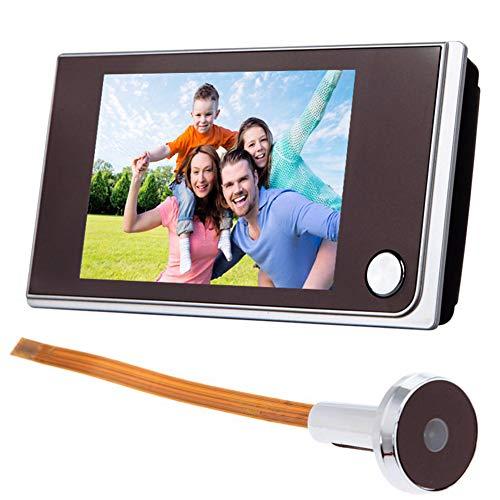 KHDJ HD 3.5 Zoll-Video-Türklingel-Versteckte Minikatzenauge Türklingel 170 ° Weitwinkel 2 Millionen High-Definition-Auflösung Geeignet Für Castle Manor