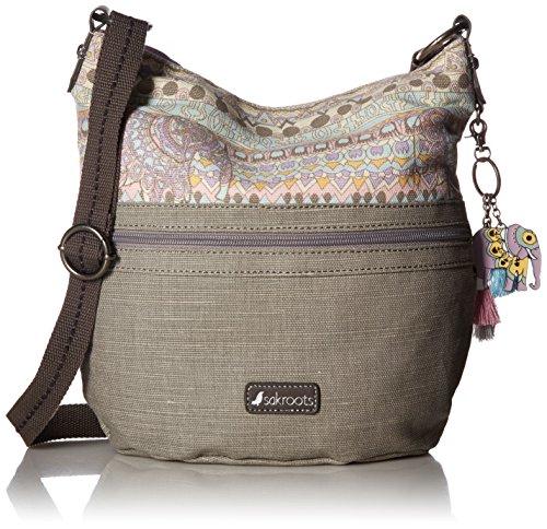 Sakroots Damen Soft Weiche Bucket-Handtasche, Pastell One World, Einheitsgröße