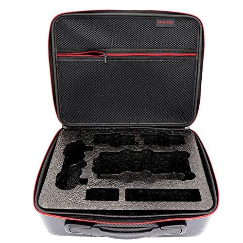 Huanruobaihuo Borsa a Tracolla for DJI Mavic PRO PU Caso della Protezione Impermeabile Carry Dura della Cassa di stoccaggio for DJI Mavic PRO .Accessori Quadcopter. (Color : Black)