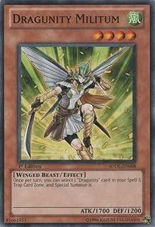 Yu-Gi-Oh! - Dragunity Militum (SDDL-EN008) - Structure Deck: Dragunity Legion - 1st Edition - Common