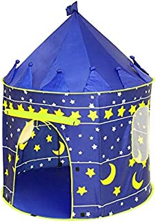 Princess Castle Play Tent with Glow in The Dark Stars, conveniently Folds in to a Carrying Case, Your Kids Will Enjoy This...