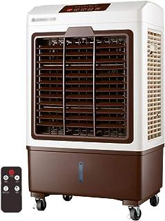 GGYMEI-Aire acondicionado portátil A Prueba De Polvo Filtrar Enfriamiento Rapido Control Remoto Inteligente Material Plástico, 2 Colores (Color : Brown, Size : 50x34x88cm)