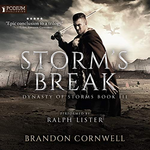 Storm's Break audiobook cover art