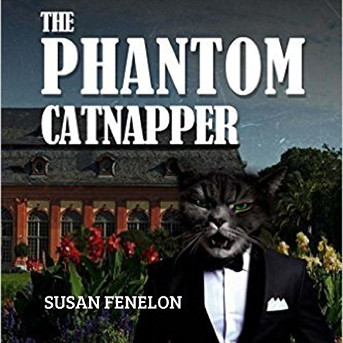 The Phantom Catnapper audiobook cover art