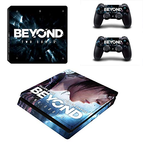 TSWEET Beyond Two Souls PS4 Slim Skin Sticker Decal Vinyl for Playstation 4 Console And Controllers PS4 Slim Skin Sticker