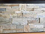Piedra Natural LAJA Crema Sabana.Cuarcita en Medidas 35x18x2cm .Nuestros Materiales se descargan pie de Calle.Precio por 1m2.