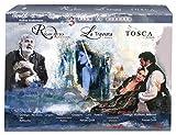 La Via Della Musica : Rigoletto/Traviata/Tosca Nei Luoghi (CE) (4 Dvd+Libro) [Italia]
