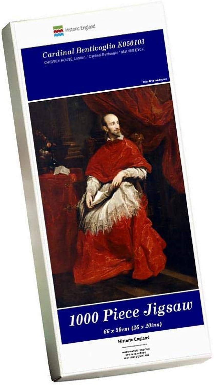 Media Storehouse 1000 Piece Puzzle of Cardinal Bentivoglio K050103 (1864789)