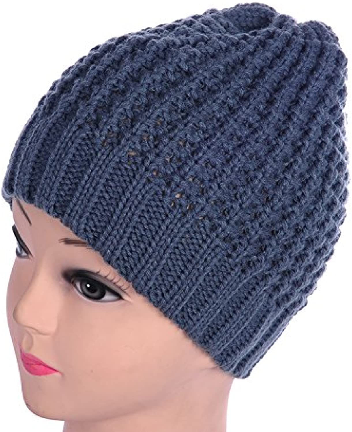 NWEC Autumn and winter lady warm thicker new knitted cap wool cap