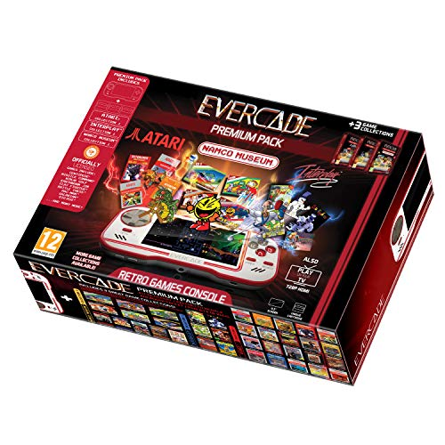 - Blaze Evercade Premium Pack + Namco Cart 1Atari Cart 1 & Interplay Cart 1