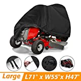 Tvird Lawn Mower Cover, Riding Lawn Mower Cover Waterproof Light-Duty | Features Double Stitched...
