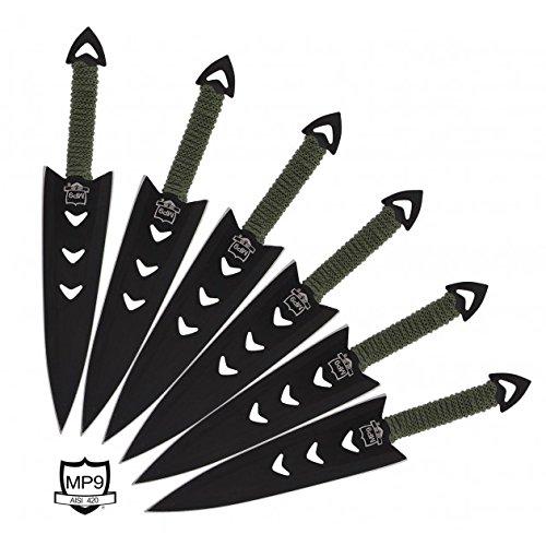 MP9 Wurfmesser Set