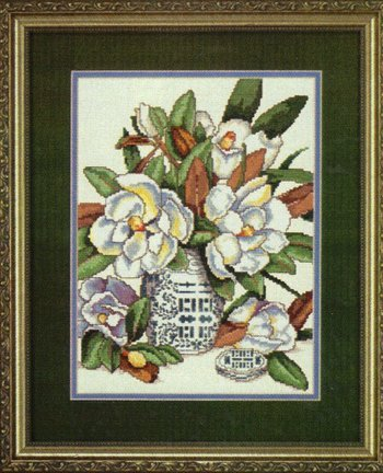 Elsa Williams Magnolia Classic Counted Cross Stitch Kit 02171