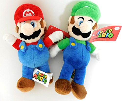 Nintendo Mario and Luigi 2 Plush Doll Set (Original Version)