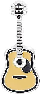 PULABO - Broche unisex para guitarra, esmalte de ropa, bufanda, vestido, joyería, resistente, rentable, seguridad