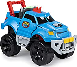 SMASH AND CRASH: Demo Duke is the truck that loves to crash! Push the throttle to rev him up and let him go! He'll get more visibly crashed and damaged with each smash! ONE-TOUCH REPAIR BUTTON: Your child can press the repair button to watch Demo Duk...