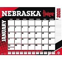 TURNER Sports ネブラスカコーンハスカーズ 2021 22X17 デスクカレンダー (21998061484)