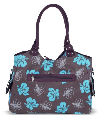 Kaiser 6572035 - Wickeltasche Betty, Design: brown flowers