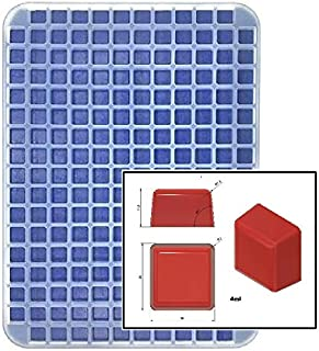 4 mL Rounded Square Gummy Mold - 200 Cavity