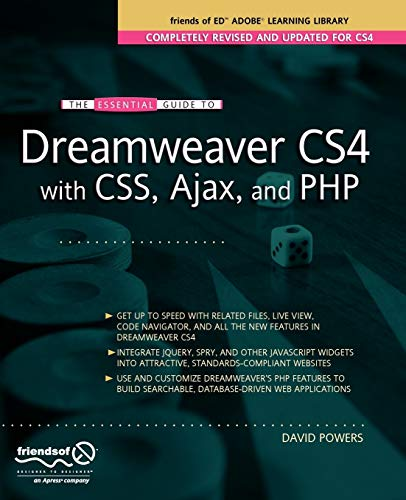 The Essential Guide to Dreamweaver CS4 with CSS, Ajax, and PHP (Essentials) download ebooks PDF Books
