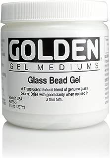 Golden Glass Bead Gel 8 oz Jar