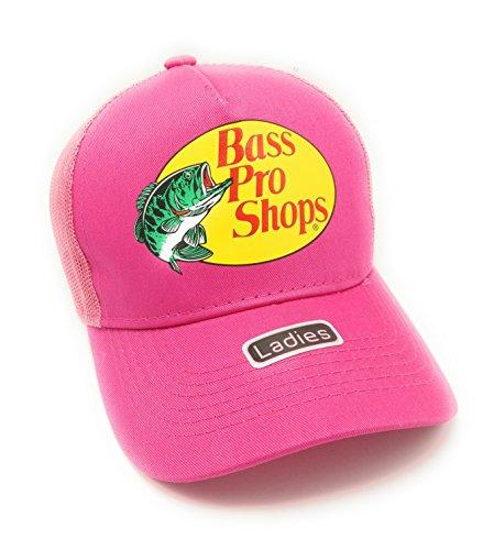 Bass Pro Shops Mesh Logo Cap for Ladies - Pink
